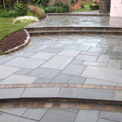 Silver Grey Sandstone Calibrated 22mm