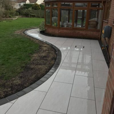 Bianco Cream Vitrified Porcelain Paving 900×450