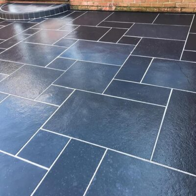 Black Limestone calibrated 22mm