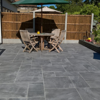 Graphite Porcelain Paving