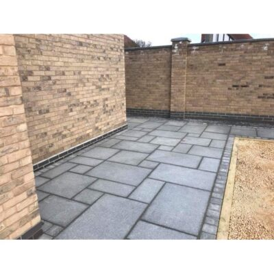 Flamed Mid Grey Granite