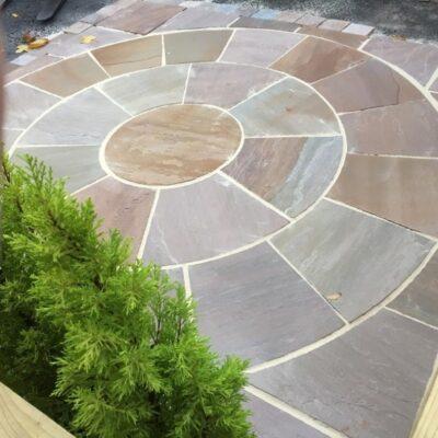 Raj Green Circle kit 3×3 m2