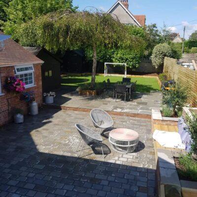 Manor House Grey Sandstone block paving