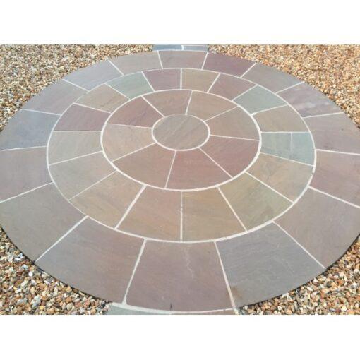 Autumn blend circle 2.4×2.4