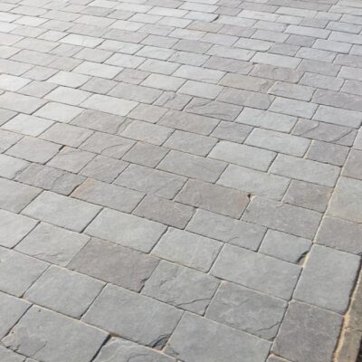 Dove Grey Limestone Setts