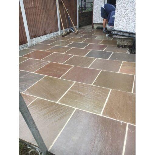 Raj Green sandstone 600×600