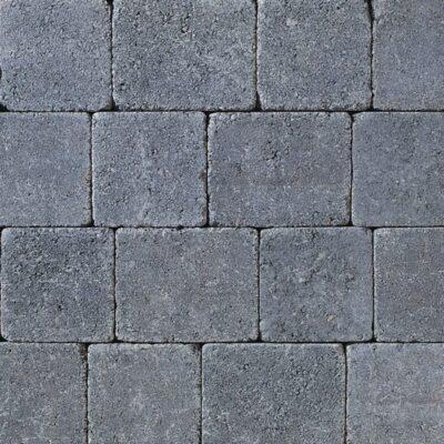 Tobermore Charcoal Tumbled block paving