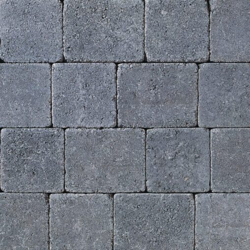 Tobermore Charcoal Tumbled block paving