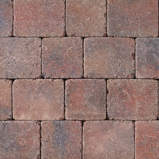 Tobermore Heather Tumbled block paving